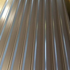 Profil 20/15 RAL 9006 Glatt