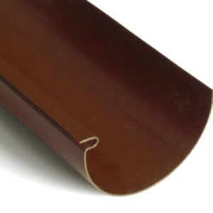 PVC-Dachrinnenelement