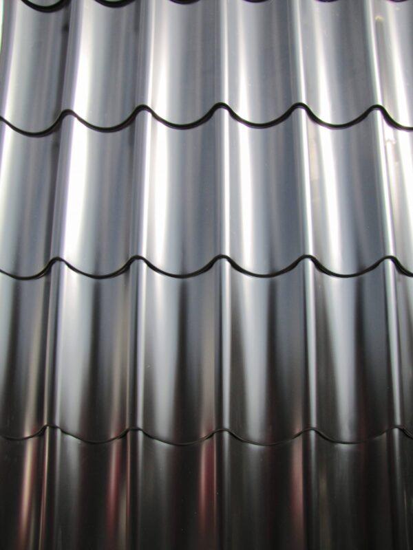 Pfannenprofil / Dachpfannenblech Schwarz 3,25 m