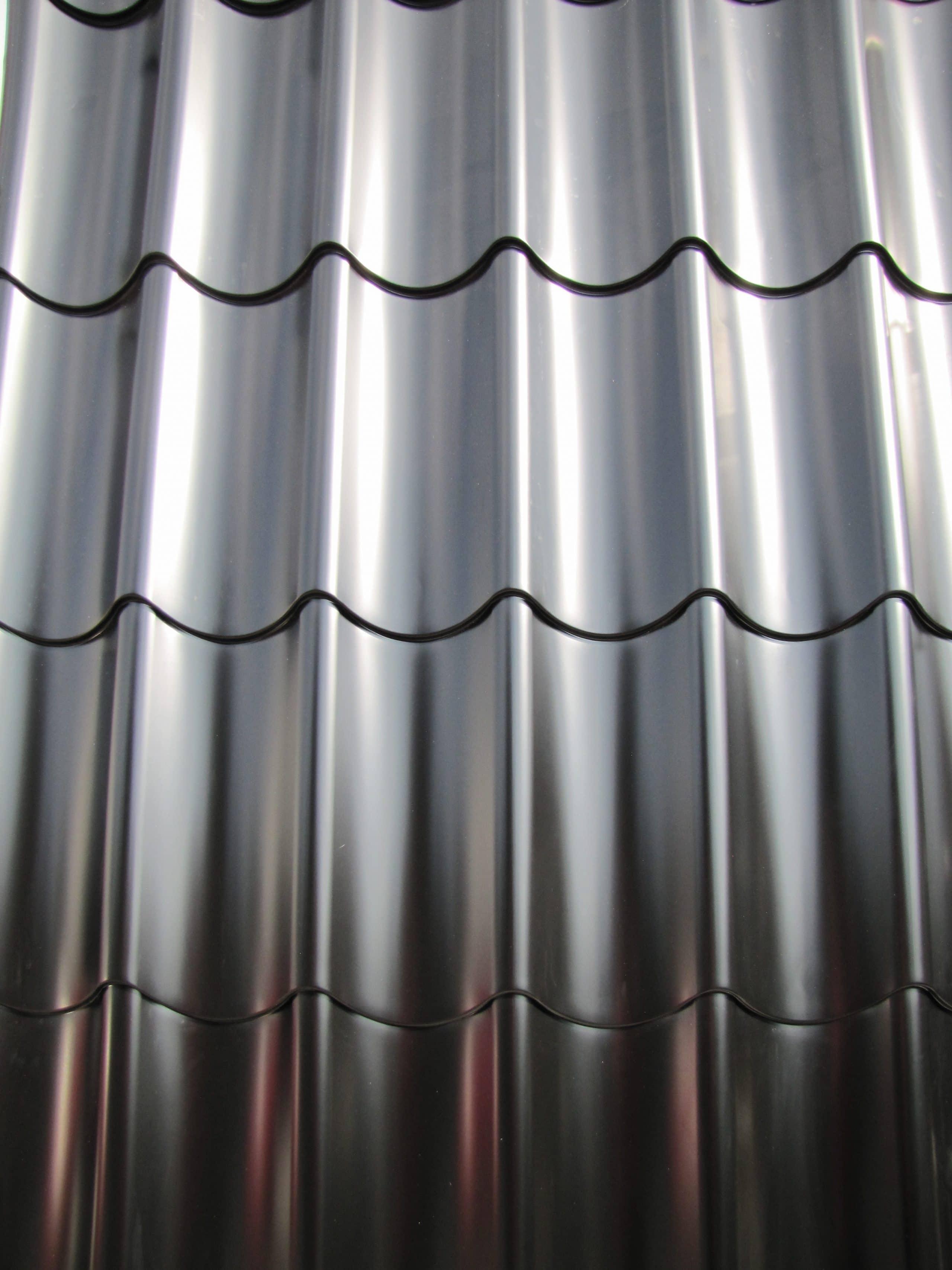 Wellblech St/ärke 0,50 mm Profilblech Wandblech Farbe Hellelfenbein Profil PS18//1064CW Material Stahl Beschichtung 25 /µm