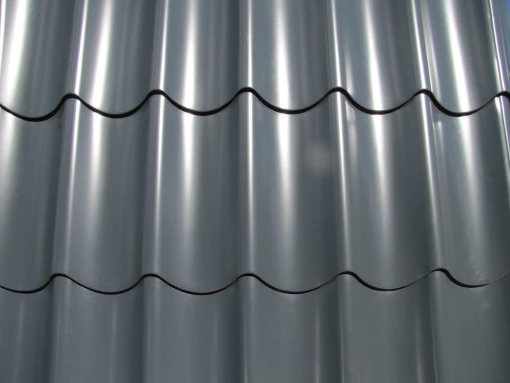 Dachblech Material Stahl Beschichtung 25 /µm Trapezblech St/ärke 0,50 mm Profil PS20//1100TR Profilblech Farbe Anthrazitgrau