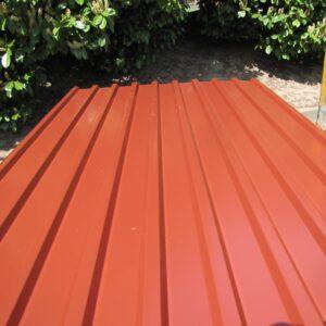 Trapezdach 20/115 Rotbraun