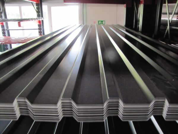Trapezdach 20/115 RAL 9005
