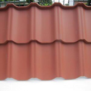Modulares Dach Venecja Ziegelrot